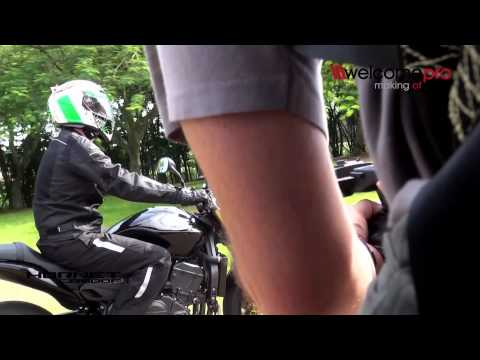 Making Of Hornet CB600F HONDA - 2013