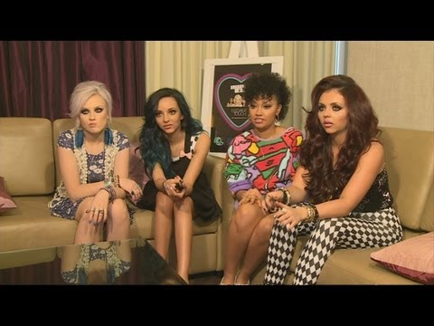 Little Mix Full Interview: One Direction Engagement Rumours, Nails, Rihanna And America video