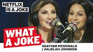 Heather McDonald Counsels Papa & Anjelah Johnson On Pet Psychics | What A Joke | Netflix Is A Joke