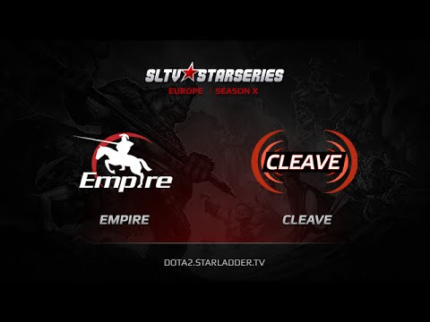 Empire  vs  Cleave, SLTV Europe Season X, Day 19, Game 1