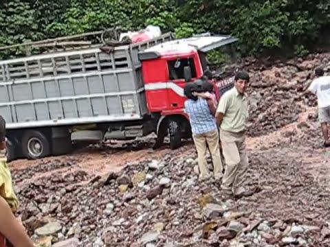camion a prueba