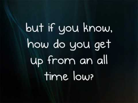 The Wanted - All Time Low (Lyrics)