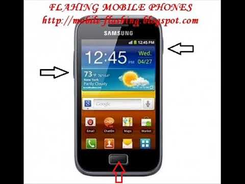 How to flash Samsung Galaxy Ace GT-S5830I
