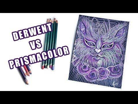 Derwent Artist Pencils VS Prismacolor: Comparison, Review & Demo | Viruella