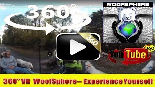 360 Videos | FurWheeling Roaring Creek Tract Weiser PA State Forest | Virtual Reality | Woofsphere