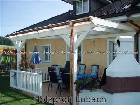 terrassendach terrassen berdachung carport wintergarten pergola vsg glas terrassen youtube. Black Bedroom Furniture Sets. Home Design Ideas