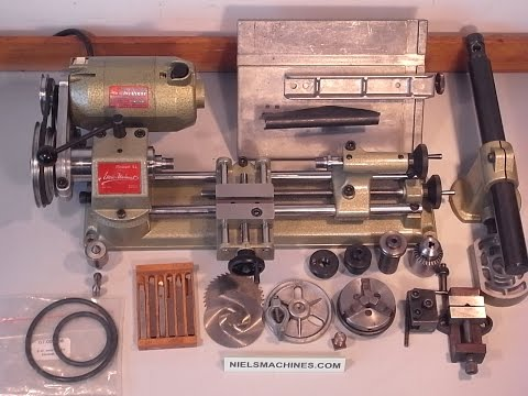 Emco Unimat SL Lathe Collection
