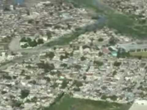 Coast Guard Flyover of Haiti