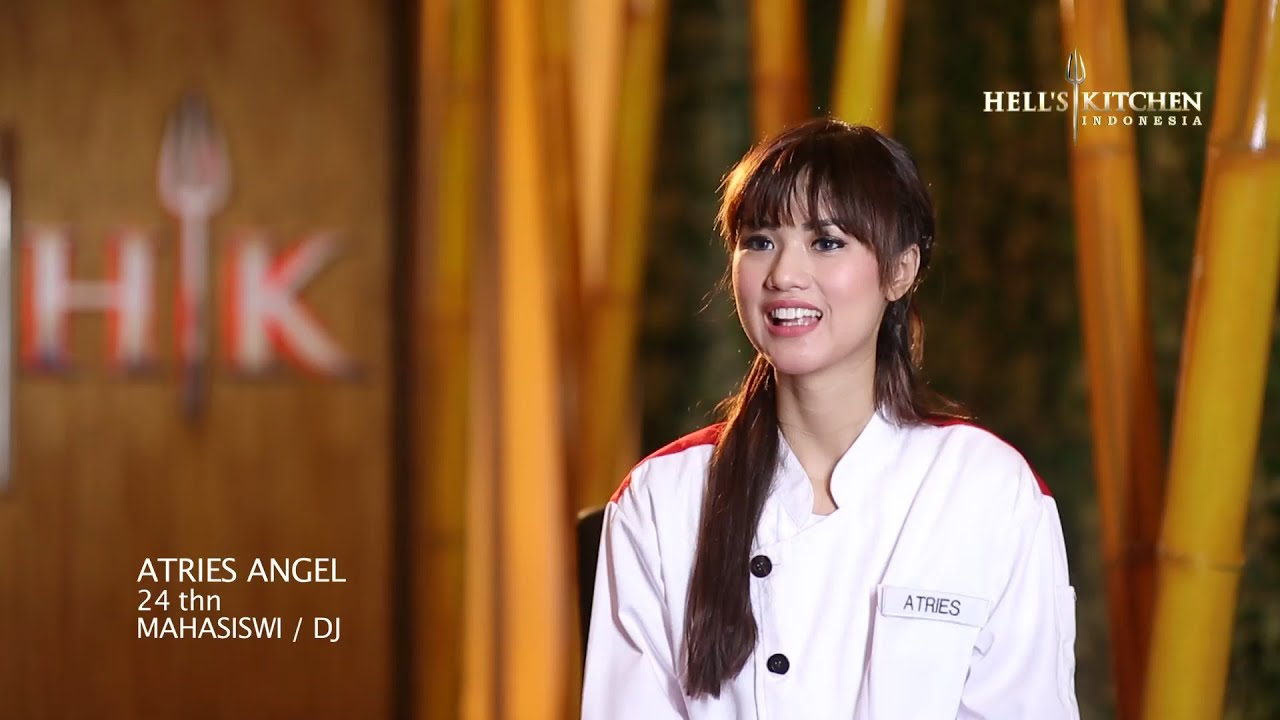 Atries Contestant Profile Hell 39 S Kitchen Indonesia Youtube