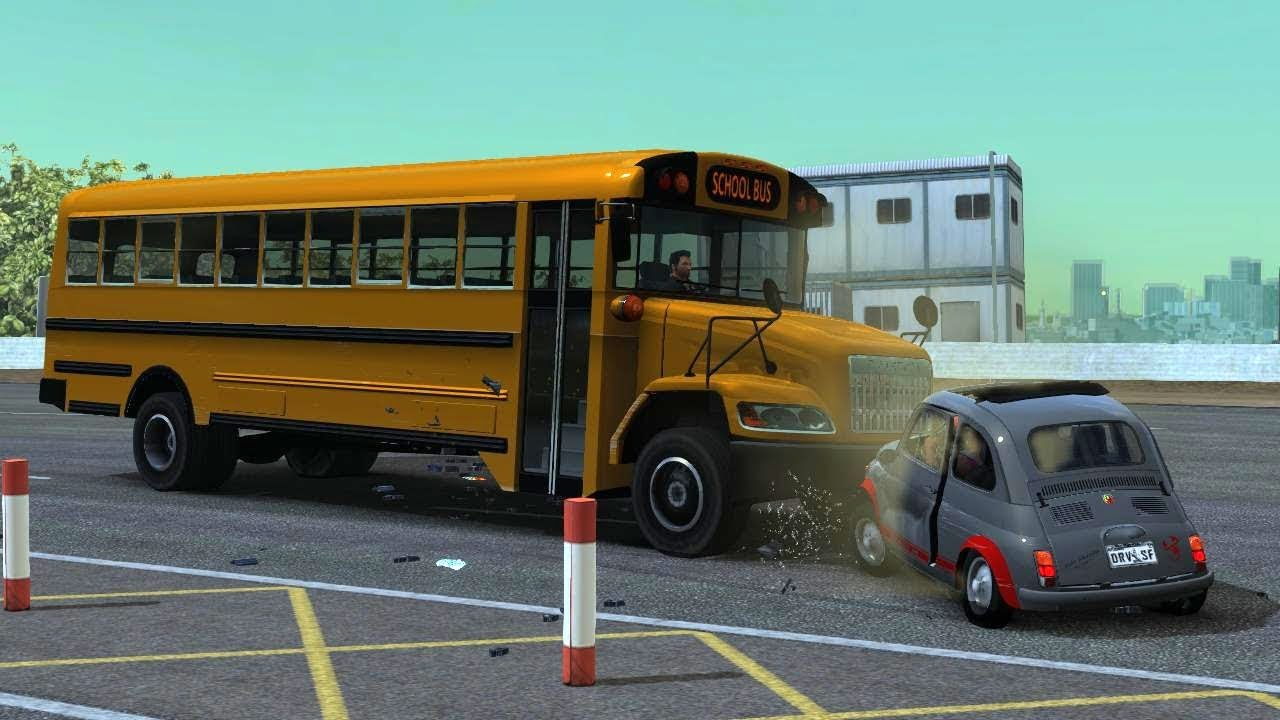 Driver San Francisco School Bus Bomb Challenge Fail