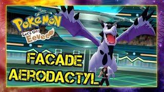 Pokemon Let's Go Pikachu & Eevee Wi-Fi Battle: Facade Aerodactyl