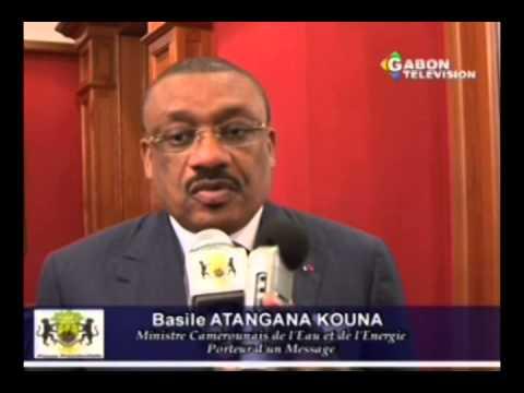 RTG/Société - Message du ministre Camerounais de l'eau et de l'énergie
