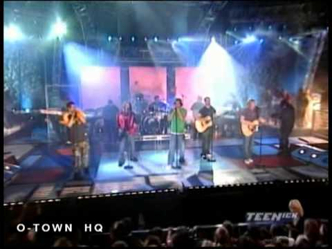 O-Town - From The Damage live on TEENick Concert Special 2002 (HQ)