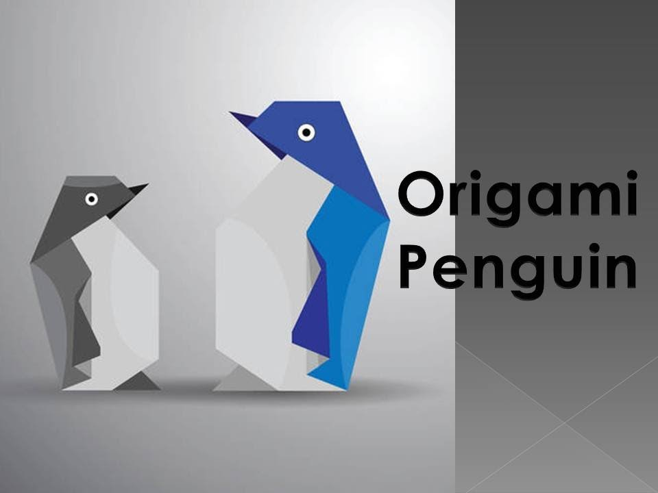 how to make a paper penguin out of paper