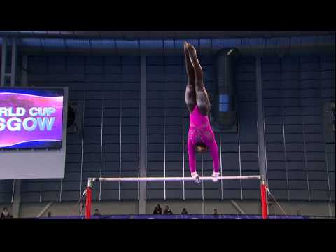 Elizabeth Price (USA) Uneven Bars
