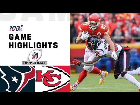 Texans vs. Chiefs Divisional Round Highlights  NFL 2019 Playoffs