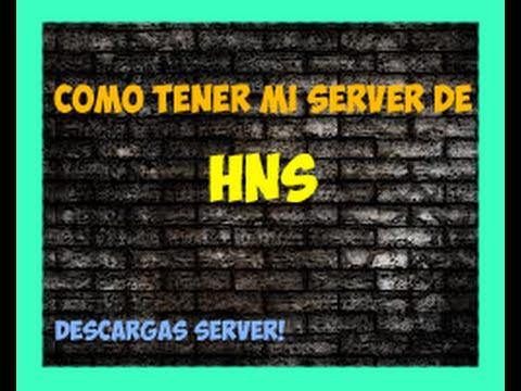 Descargas HNS Server y Configuracion | [Español] | Cs 1.6 | Lucas Wolf |