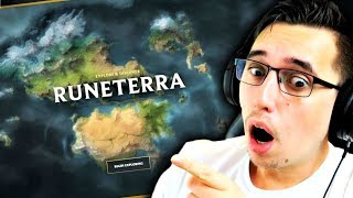 League Of Legends! - So today I explored Runeterra...