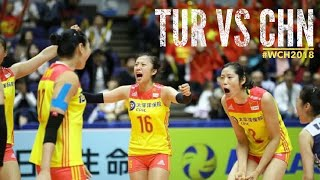 TURKEY VS CHINA WCH2018 HIGHLIGHTS