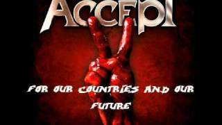 Watch Accept Blood Of The Nations video