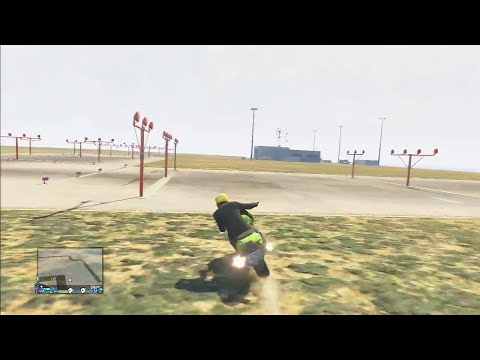 GTA V - A Moto mais rápida do MUNDO GLITCH HUE