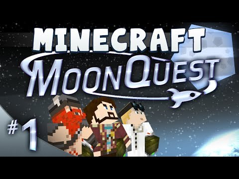 Minecraft Galacticraft - MoonQuest Episode 1 - Lofty Ambitions