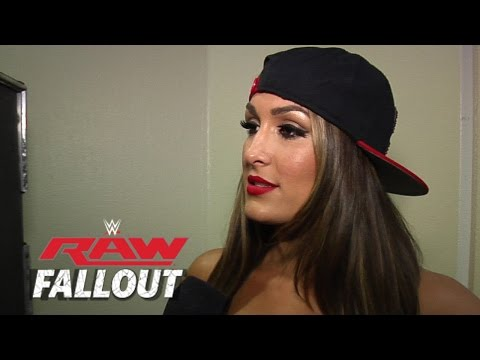 Nikki Makes a Statement - Raw Fallout - Sept. 15, 2014