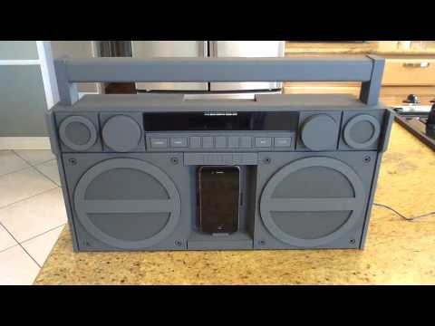 iHome iP4 Portable FM Stereo Boombox For iPhone/iPod Review