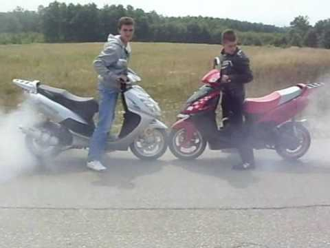 Mondial 150 hs vs 150 hsi burnout
