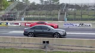 Audi A6 2014 3.0 1/4 Mile Part 2