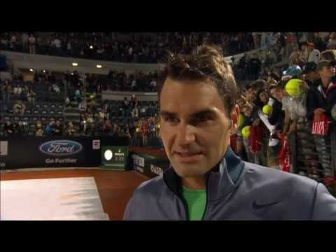 Federer Previews Rome Final Clash With Nadal