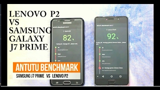 Samsung Galaxy J7 Prime vs Lenovo Vibe P2 - Review & Comparison | Techie Abhishek