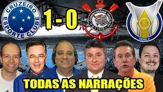 Todas as narrações - Cruzeiro 1 x 0 Corinthians / Brasileirão 2018