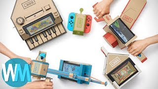Top 10 Coolest Things People Have Done With Nintendo Labo