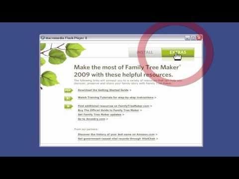 Installing Family Tree Maker 2009
