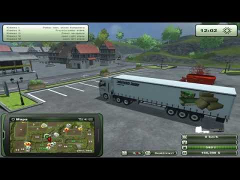 Zagrajmy w Farming Simulator 2013 na multiplayer #28 - Transport palet z we łną.