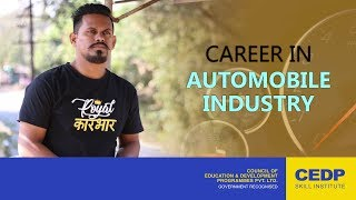 Automobile Engineering   Courses After 10th   Student Testimonial   CEDP Skill Institute
