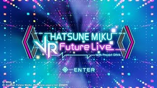 Hatsune Miku: VR Future Live - 20 Minute 1st Stage Playthrough [PS4]