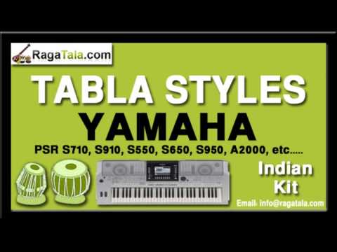 Kitna haseen chehra - Yamaha Tabla Styles - Indian Kit - PSR...