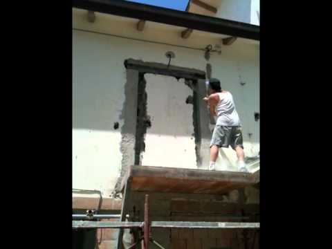 Mauri youtube - Architrave su muro portante ...