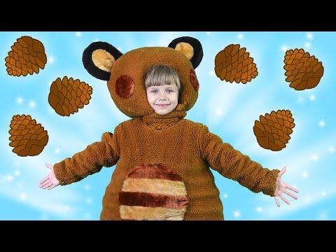 Мишка Косолапый по Лесу Идет | Песни для Детей | Сборник Песенок 10 | Чух Чух ТВ
