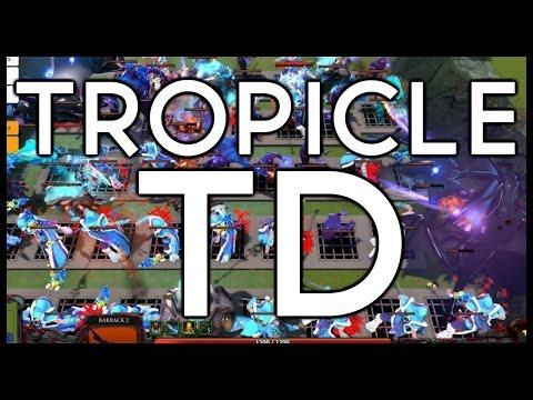 Dota 2 Mods   TROPICLE TD!!
