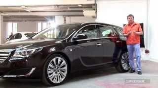 Présentation Opel Insignia 2013