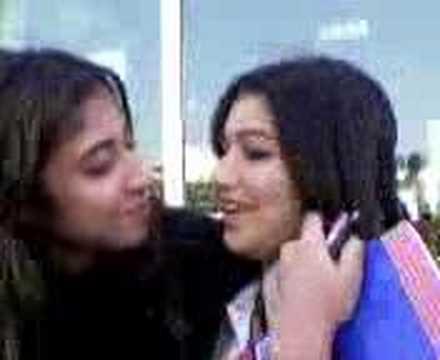 Tajik young khorasani farsi girls kissing