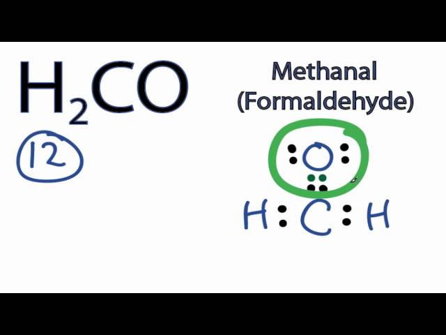 H2CO Lewis Structure How to  H2co2 Lewis Structure