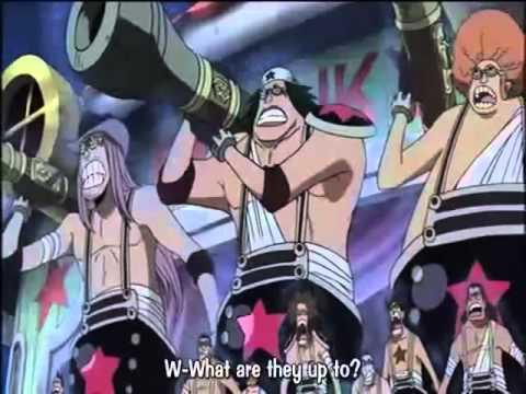 Luffy & Zoro Vs. Aqua Laguna (gomu Gomu No 300 Pound Cannon) video