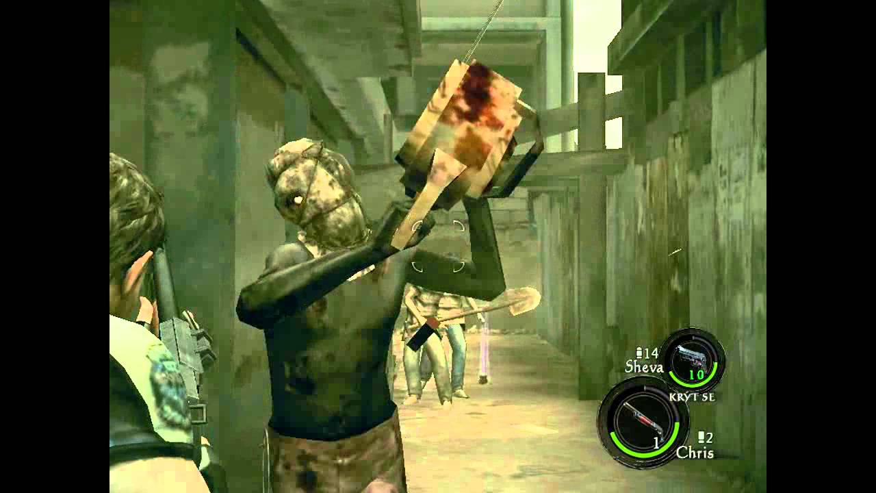 Resident Evil 5- Chainsaw Majini I DEFEATED I HD - YouTube Executioner Majini