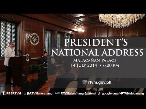 President's National Address