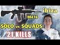 Team Liquid ibiza - 21 KILLS - INTENSE SOLO vs SQUADS - M416 - VIKENDI - PUBG