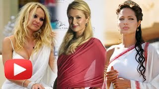 Hollywood Celebs In Saree | Hollywood Celebs Go Desi Hot Or Not ?